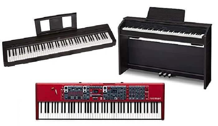welke piano of keyboard kopen